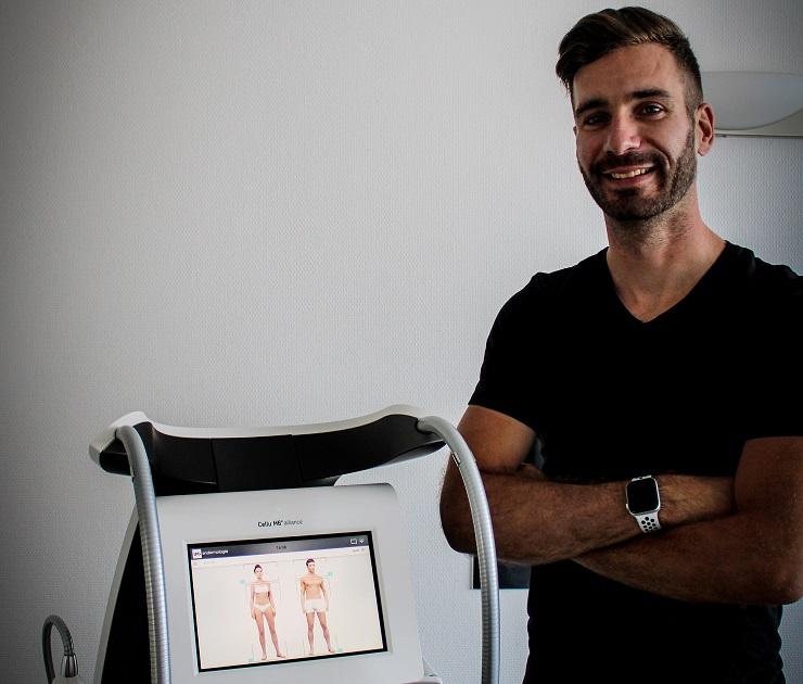 Florian Hervo vous accueille dans son cabinet de kinésithérapie esthétique Cellu M6 à Nantes